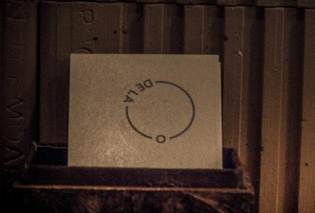 tarjeta de visita De la O